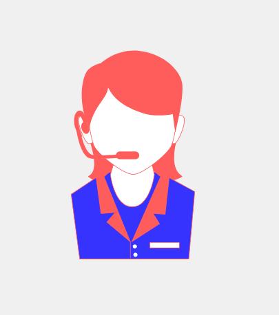 Recepcionista telefónica